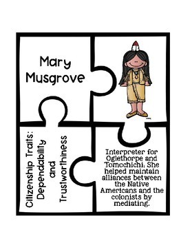 Historical Figures and Citizenship Traits Puzzles