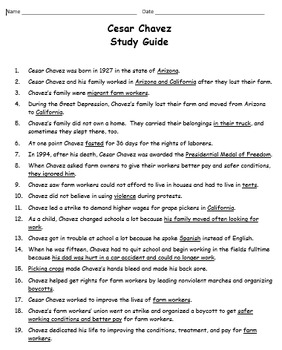 Historical Figures Study Guides, Grade 3