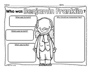 Historical Figures in American History {Georgia - First Grade}