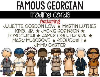 Historical Figures of Georgia Trading Cards