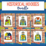Historical Hoodies Social Studies Project Bundle