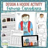 Historical Hoodies Social Studies Project - Famous Canadians
