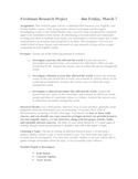 Historical Impact Research Project: 13-page Unit for Paper and Speech
