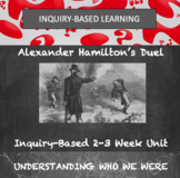 Historical Inquiry Unit-Hamilton and Burr Duel  Federalist/AntiFederalist Debate