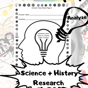 Historical Invention + Inventor Research Convention PROJECT