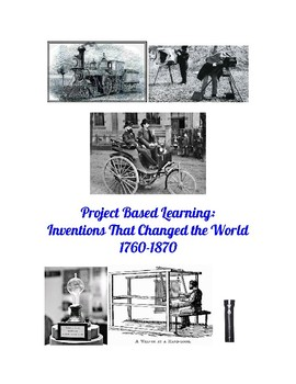 Historical Invention Project Based Learning