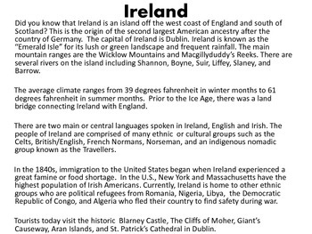 Historical Irish Americans {Speech Language Therapy & Curriculum Unit}