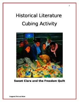 Historical Literature Cubing Activity
