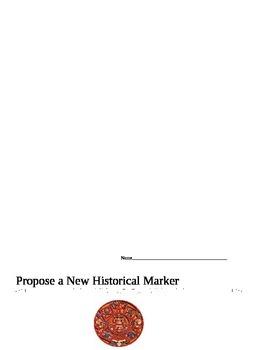 Historical Marker - 2nd Grade Georgia History