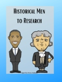 Historical Men to Research