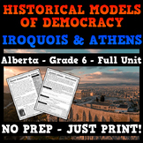Historical Models of Democracy: Ancient Athens and the Iroquois Confederacy