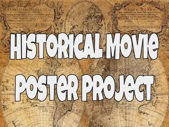 Historical Movie Poster - No Prep Needed!