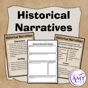 Historical Narrative Pack