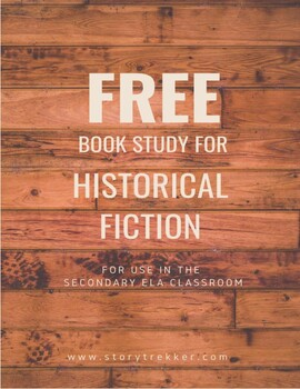 Historical Novel Book Study