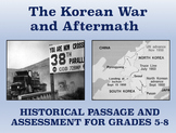 Historical Passage and Assessment: The Korean War and Aftermath