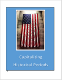 Capitalization of Historical Periods Bundle