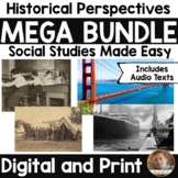 Historical Perspectives MEGA Bundle- Social Studies Made E