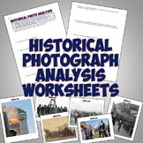 Historical Photograph Analysis Worksheets & Examples