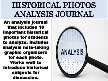 Historical Photos Analysis Journal