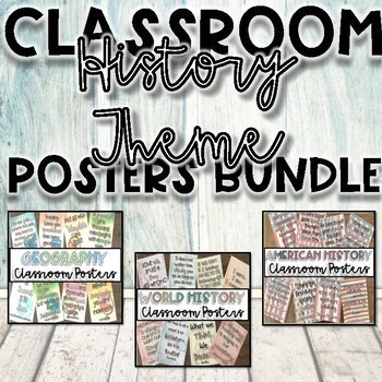 History Quote Posters {Classroom Decor}