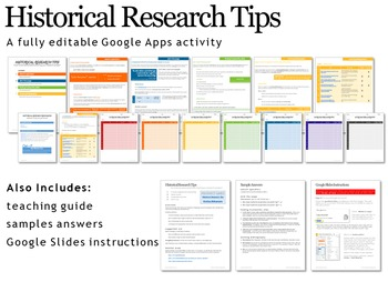 Historical Research Tips