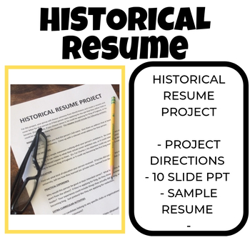 Historical Resume Project