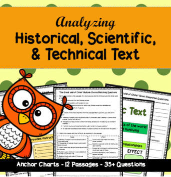 RI.4.3 & RI.5.3: Historical, Scientific, and Technical Text