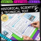 Historical, Scientific, & Technical Text- 4th & 5th Grade RI.4.3/ RI.5.3