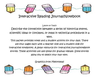 Historical, Scientific, Technical text Interactive Notebook