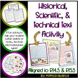 RI.4.3/ RI.5.3 - Historical, Scientific, and Technical Tex