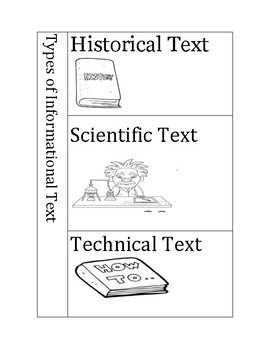 Historical, Scientific and Technical Text Flip Book