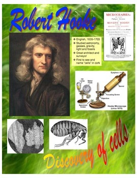 "Historical Scientist Posters (Life Science - 8 1/2"" x 11"")"