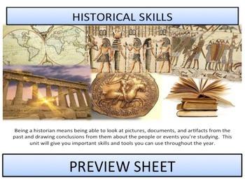 Historical Skills - Complete Unit