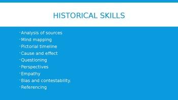 Historical Skills Powerpoint