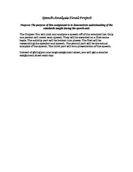Historical Speech Analysis Project