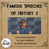 Famous Speeches of History Lesson 2