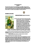 Historical St. Patrick reading/writing
