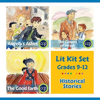 Historical Stories Lit Kit Set - BUNDLE Gr. 9-12