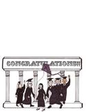 Historical Themed Graduation Card