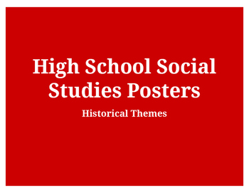 Historical Themes - Posters