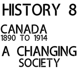 Historical Thinking - Grade 8 - NEW Ontario Curriculum - Strand B