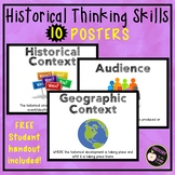 Historical Thinking Posters- aligned with new Global Regen