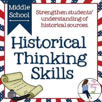 Historical Thinking Skills Activities