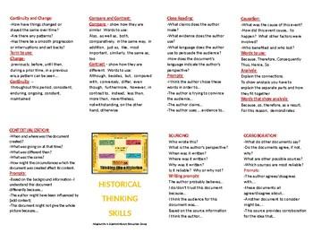 Historical Thinking Skills Booklet