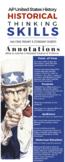 AP US History Historical Thinking Skills Infographic
