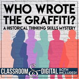 Historical Thinking Skills Introduction Solve a School Mystery!