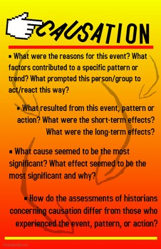 Historical Thinking Skills Posters