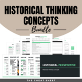 Historical Thinking Bundle - Complete Unit w/ GOOGLE DRIVE LINK