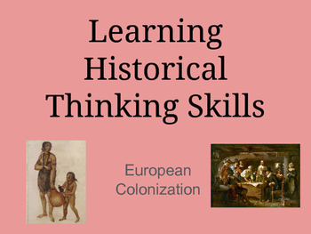 Historical Turning Points - European Colonization