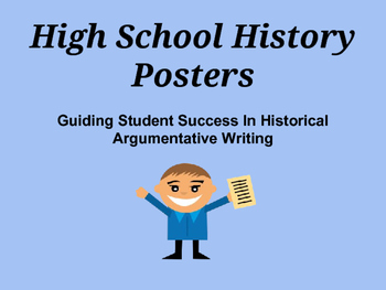 Historical Writing Posters